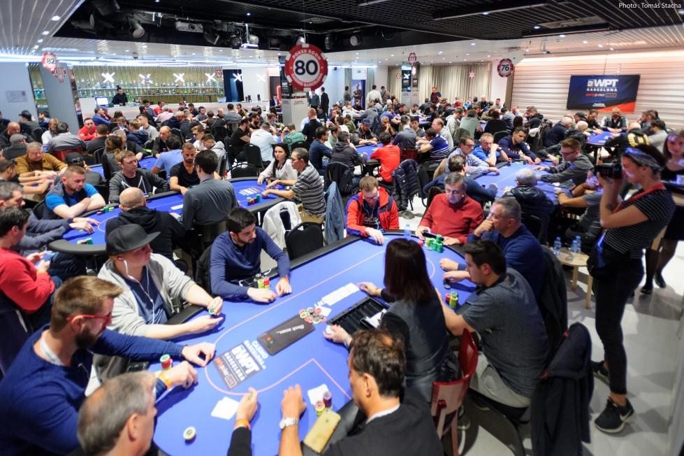 Le Casino de Barcelona lors du WPT 2019
