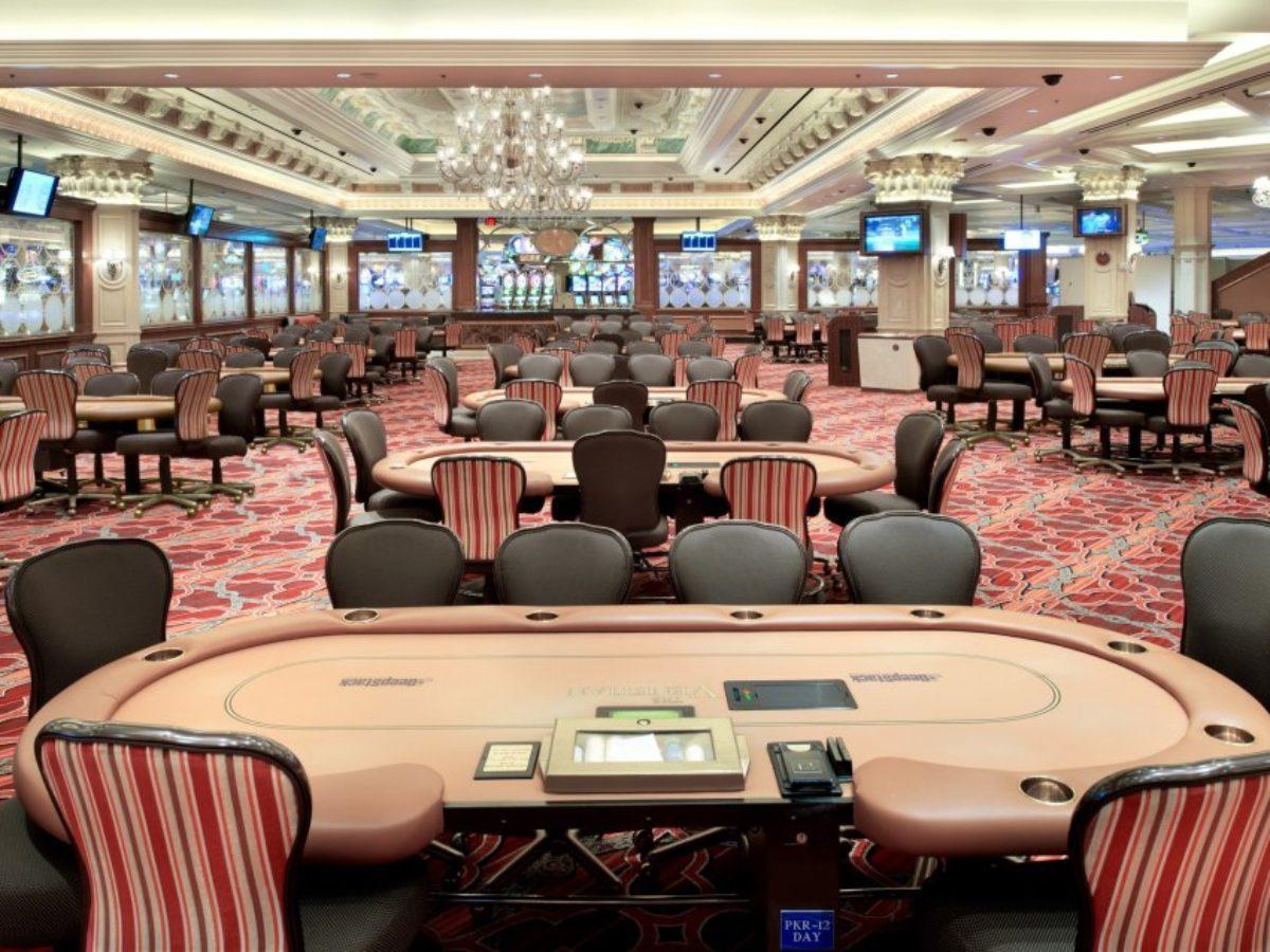 La poker room du Venetian rouvrira le 5 juin avec 4 joueurs par table
