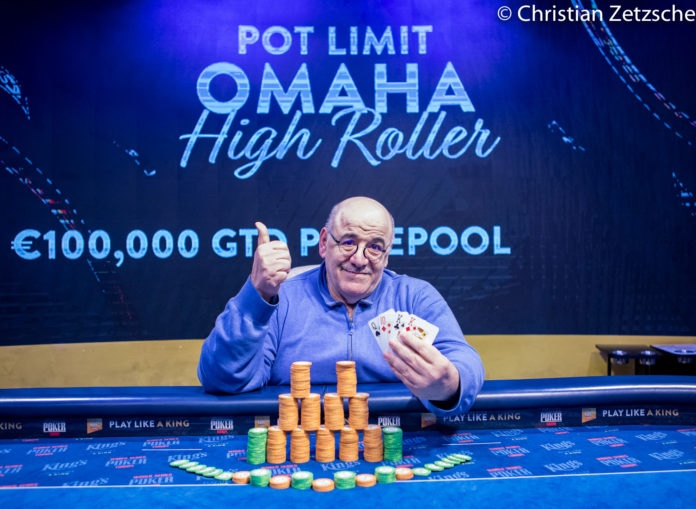 A Rozvadov, Roger Hairabedian remporte le PLO High Roller (40.401€)