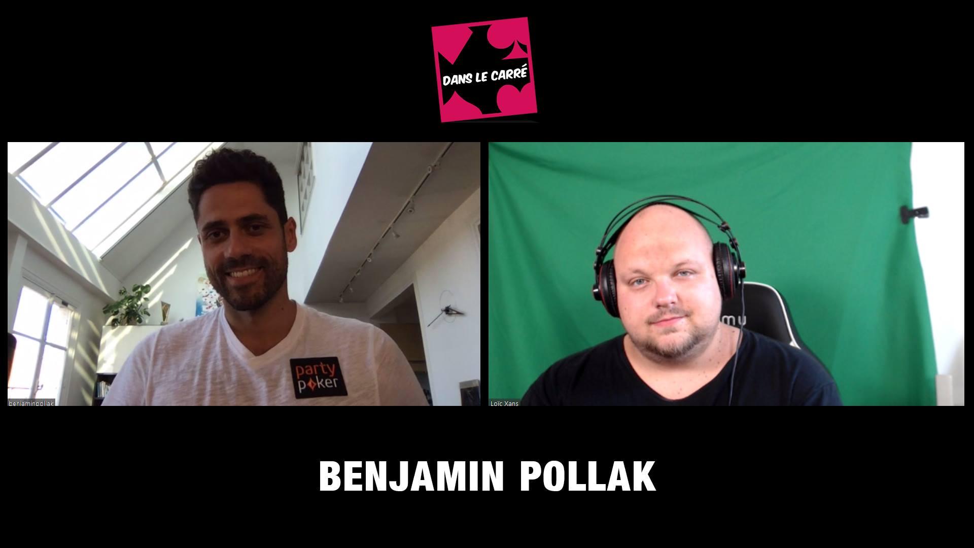 Benjamin Pollak est Dans le Carré !