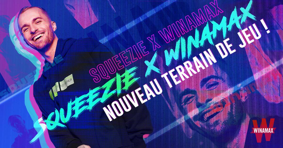 Le Youtubeur Squeezie débarque sur les tables de Winamax