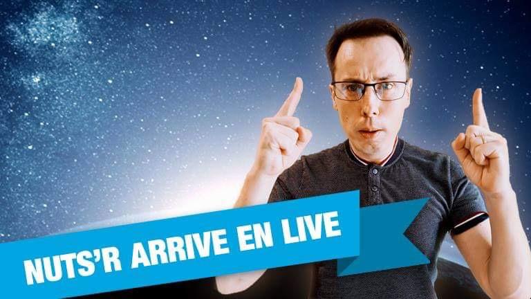 NUTSR annonce l'arrivée de Sylvain Loosli et de l'ensemble de sa team live