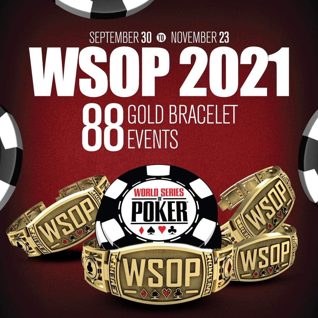 Découvrez le programme complet des WSOP 2021 !
